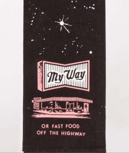 My Way Tea Towel