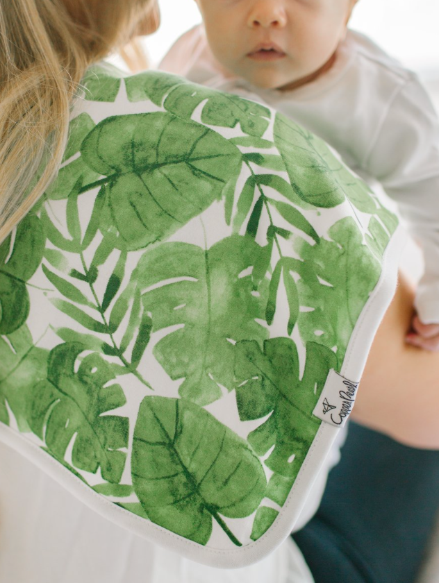 Plant Burp Cloth