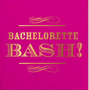 Bachelorette Bash Beverage Napkins