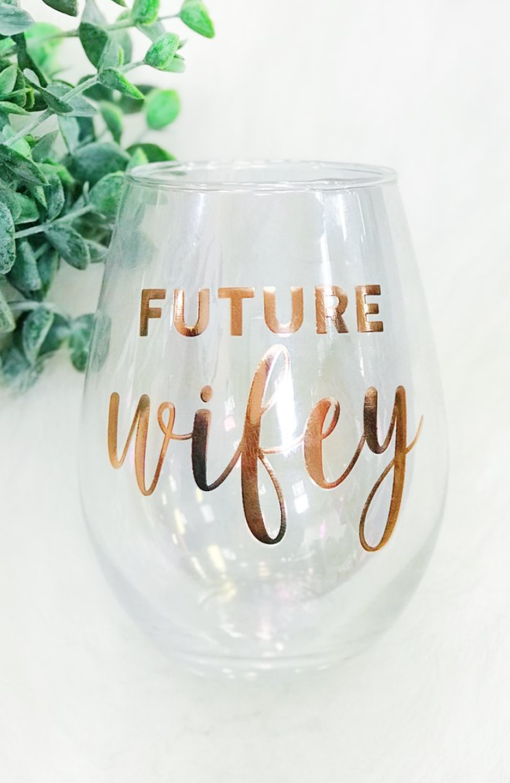 Future Wifey Stemless Wine Glass