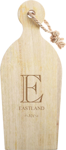 Personalized Mango Wood Cutting Board