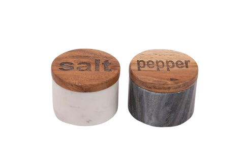 Marble Salt/Pepper Set