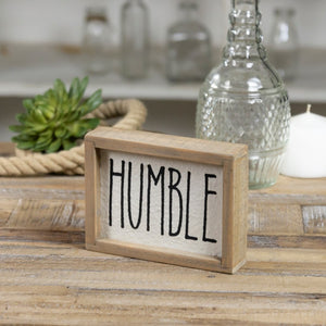 Humble Sign