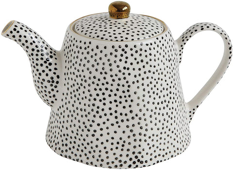 Ceramic Spotted Teapot