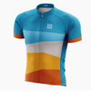 Maillot homme CLUB FIT - GRAVEL azur