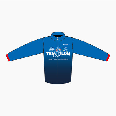 Triathlon Laval - Veste Wirldwind (coupe vent)