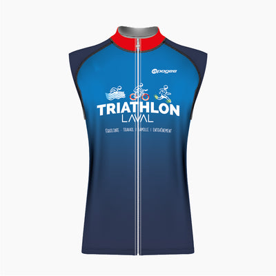 Triathlon Laval - Maillot sans manche Club fit