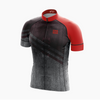 Maillot ÉLITE FIT -  homme grunge rouge