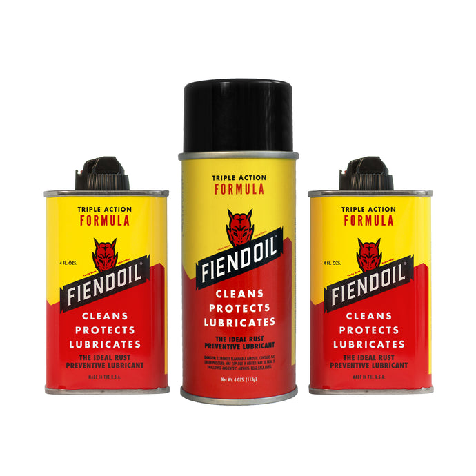 FIENDOIL™ 3 Pack (2 Drip, 1 Spray)