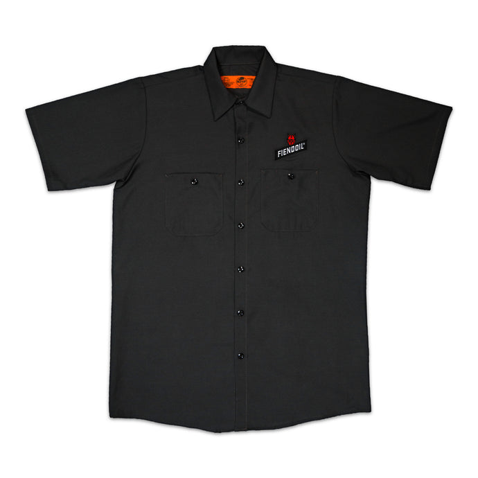 Red Kap - Short Sleeve Industrial Work Shirt