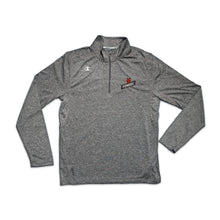 Champion - Performance Heather Quarter-Zip Pullover Grey