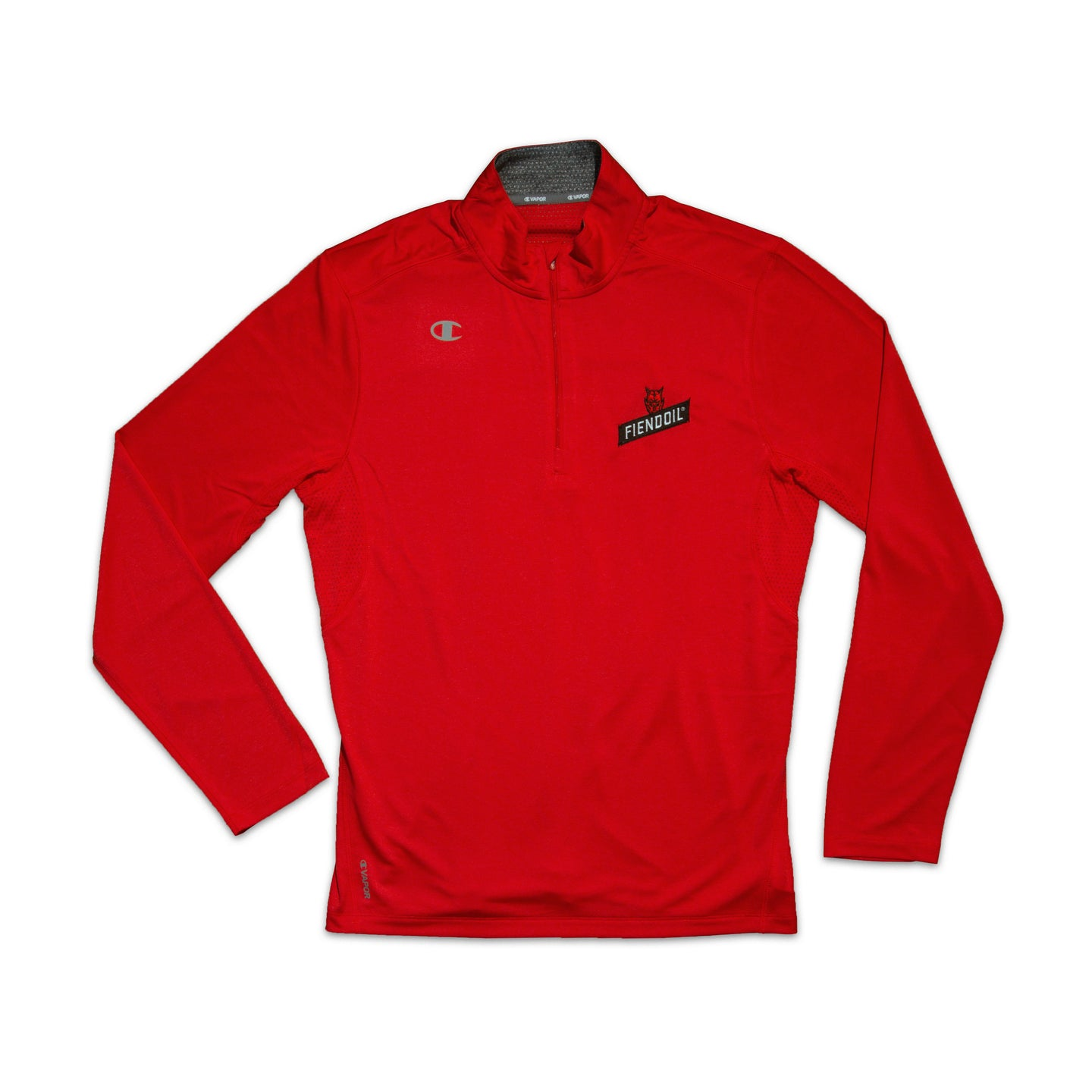 Champion - Performance Heather Quarter-Zip Pullover Red