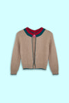 KnitRock (Beige Red)