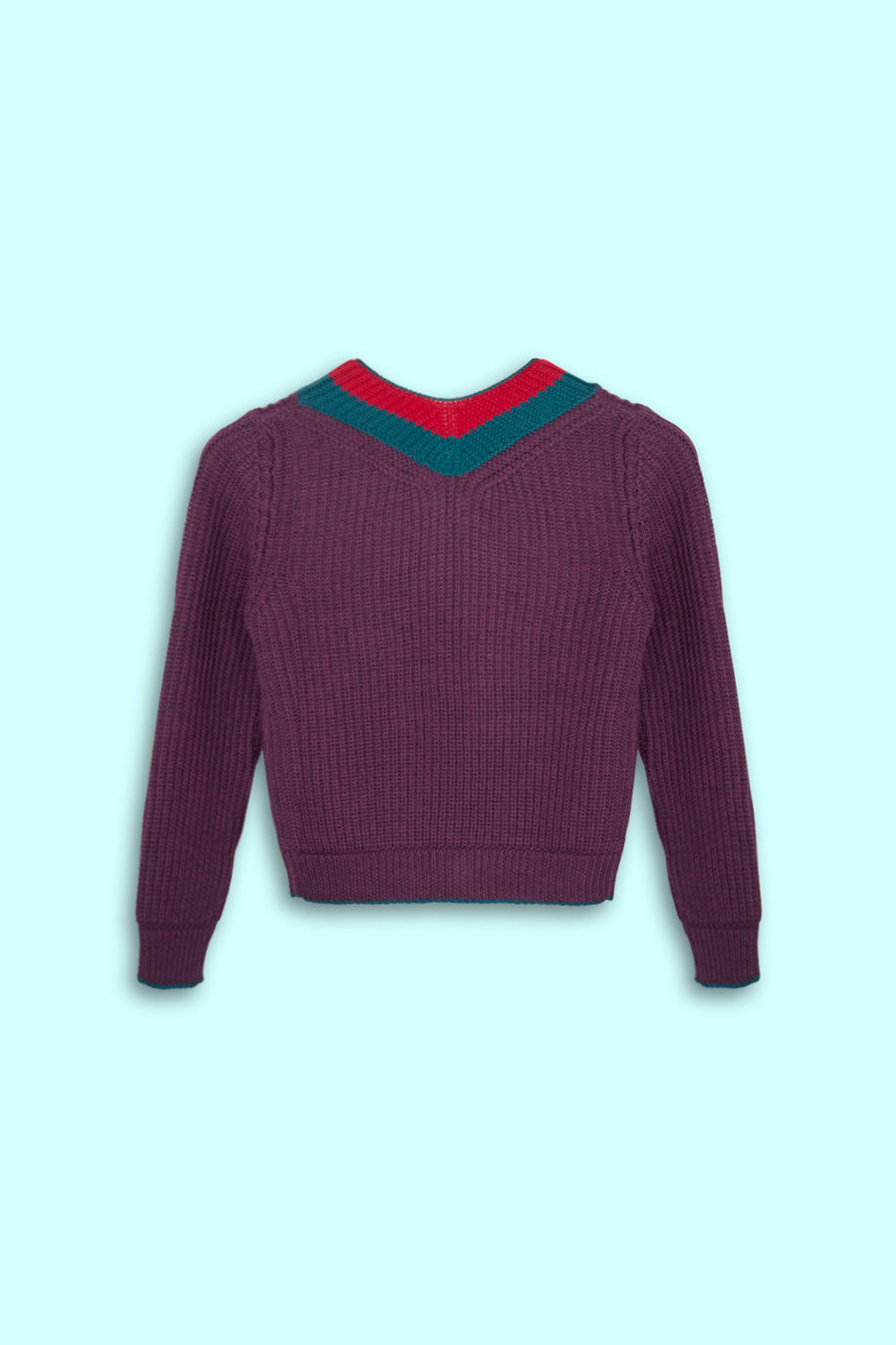 KnitRock (Aubergine Red)
