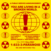 BROKEN WORLD YELLOW - PARANOID
