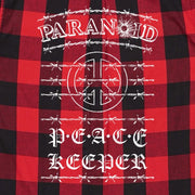 PEACEKEEPER PLAID - PARANOID