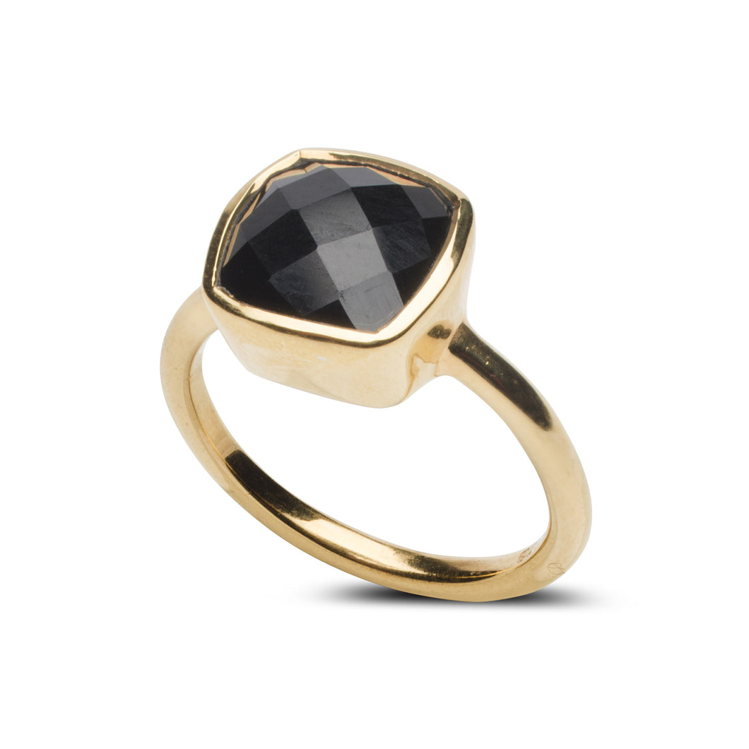 Fairmont Ring in Black Onyx