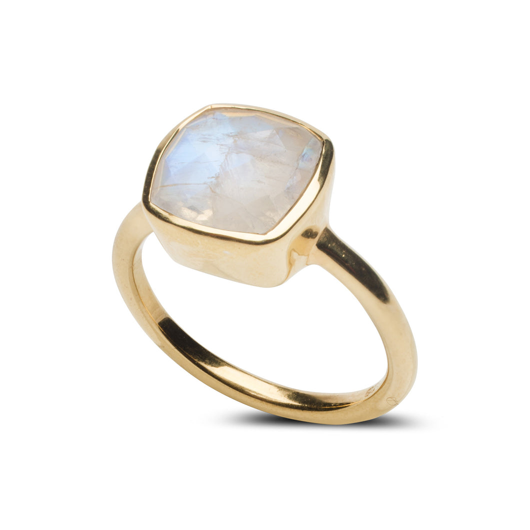 Fairmont Ring in Moonstone