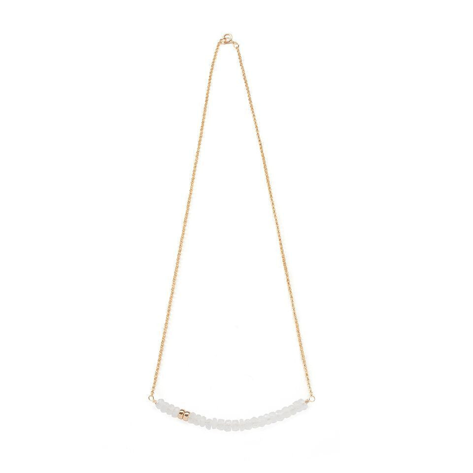 Robson Necklace in Moonstone