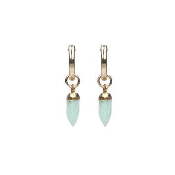 Acadia Earrings in Amazonite