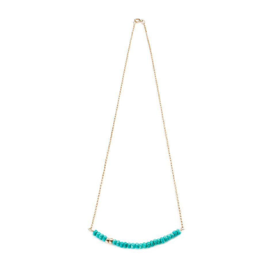 Robson Necklace in Turquoise