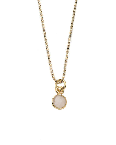 Aubrey Necklace in Rose Quartz