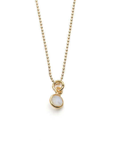 Aubrey Necklace in Moonstone