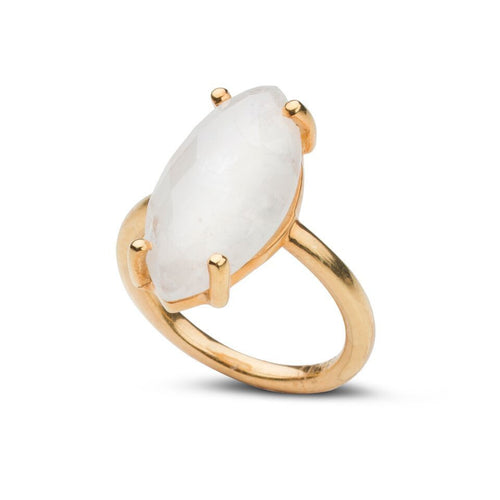 Blake Ring in Moonstone