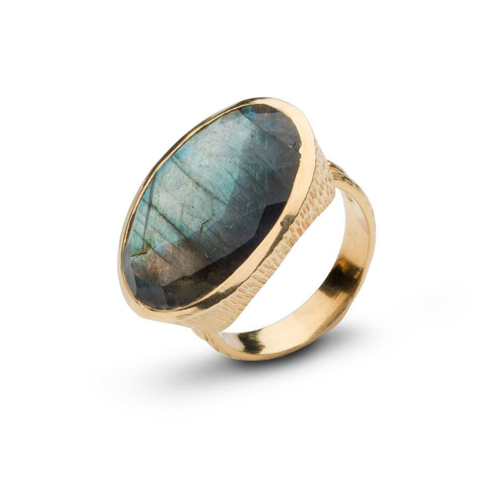 Bentley Ring in Labradorite