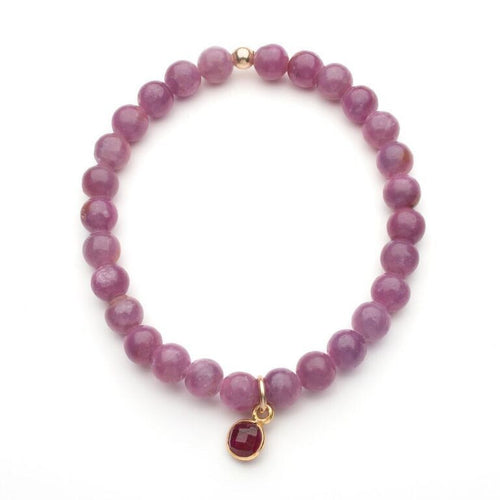 Burrard Bracelet in Ruby