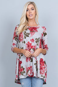 Undiscovered Floral Print Top