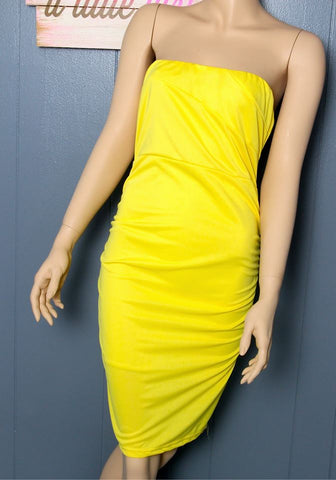Girls Night Out Yellow Dress