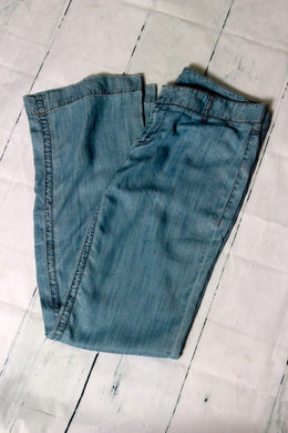 Classic Denim Wash Pants