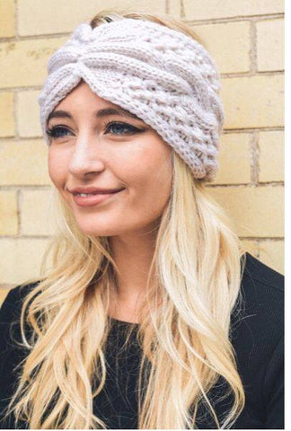 Cable Knit Turbin Headband