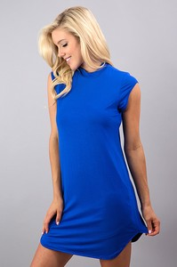 Royal Blue Midi Dress