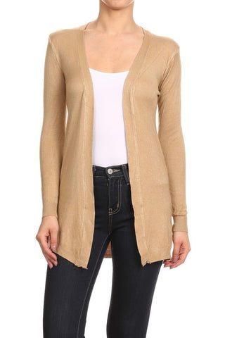 Near Or Far Waist Length Cardigan