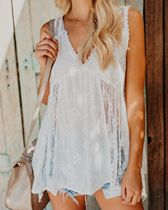 Lace Confessions Sleeveless Top