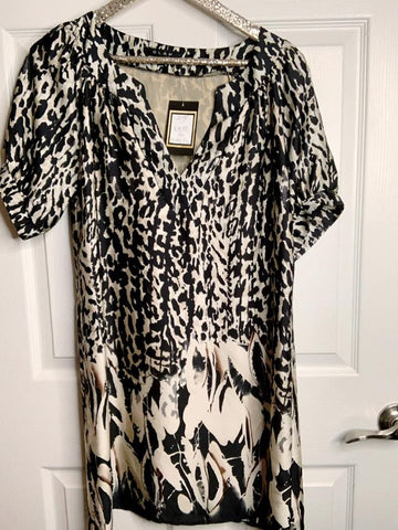 Let's Celebrate A Win Leopard Tunic Dress