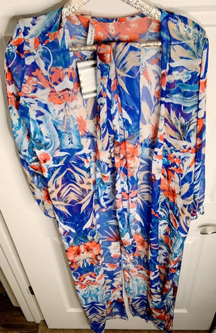Tropical Passion Bathing Suit Cover Up