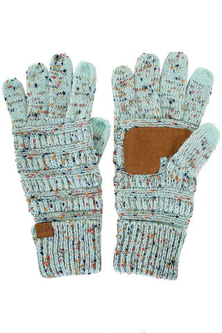 CC Cable Confetti Gloves