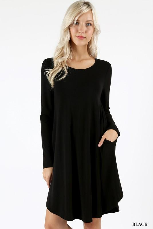 Love Me Like You Mean It Long Sleeve Dress