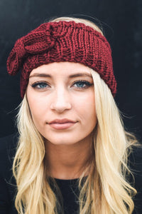 Bow Knit Headband