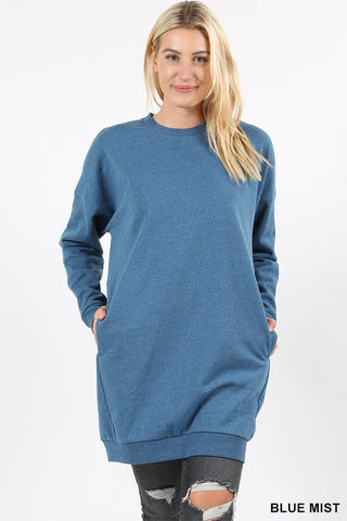 Falling Into Place Oversized Sweater