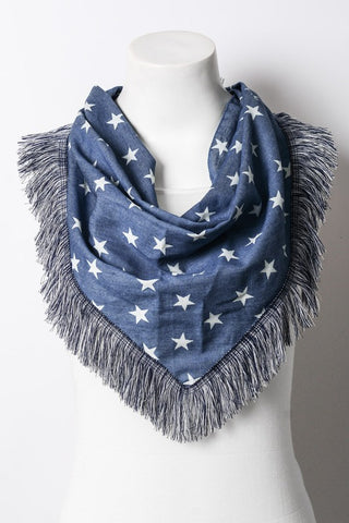 Star Triangle Bandana Scarf