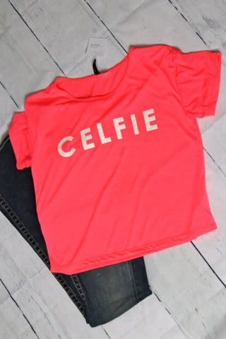 Celfie Graphic Tee