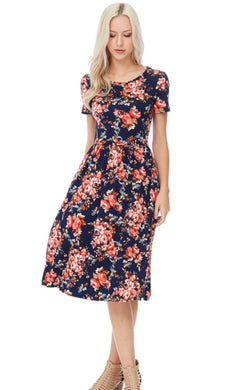 Love Me Beautifully Floral Dress
