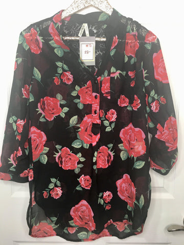 Forget About It Floral Top