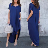 Tell Me About It Short Sleeve Maxi