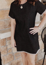 Cut From The Cloth Black Denim Dress
