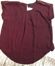 Believe It Or Not Burgundy Top